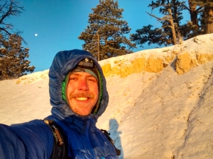 Double jacket, early morning, ice cold Bryce Canyon selfie.  You're welcome:)