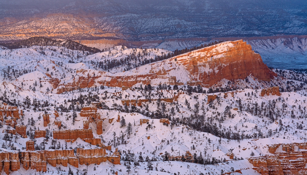 Sunset in Bryce Canyon. Best place for sunset in Bryce Canyon.